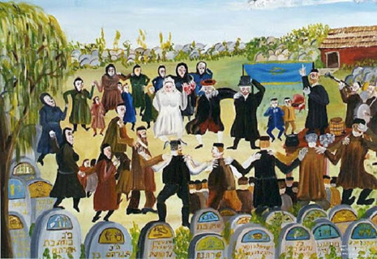 Czingel Szilvia: Esküvő a temetőben – különös zsidó szokás járványűzésre | Múlt és Jövő